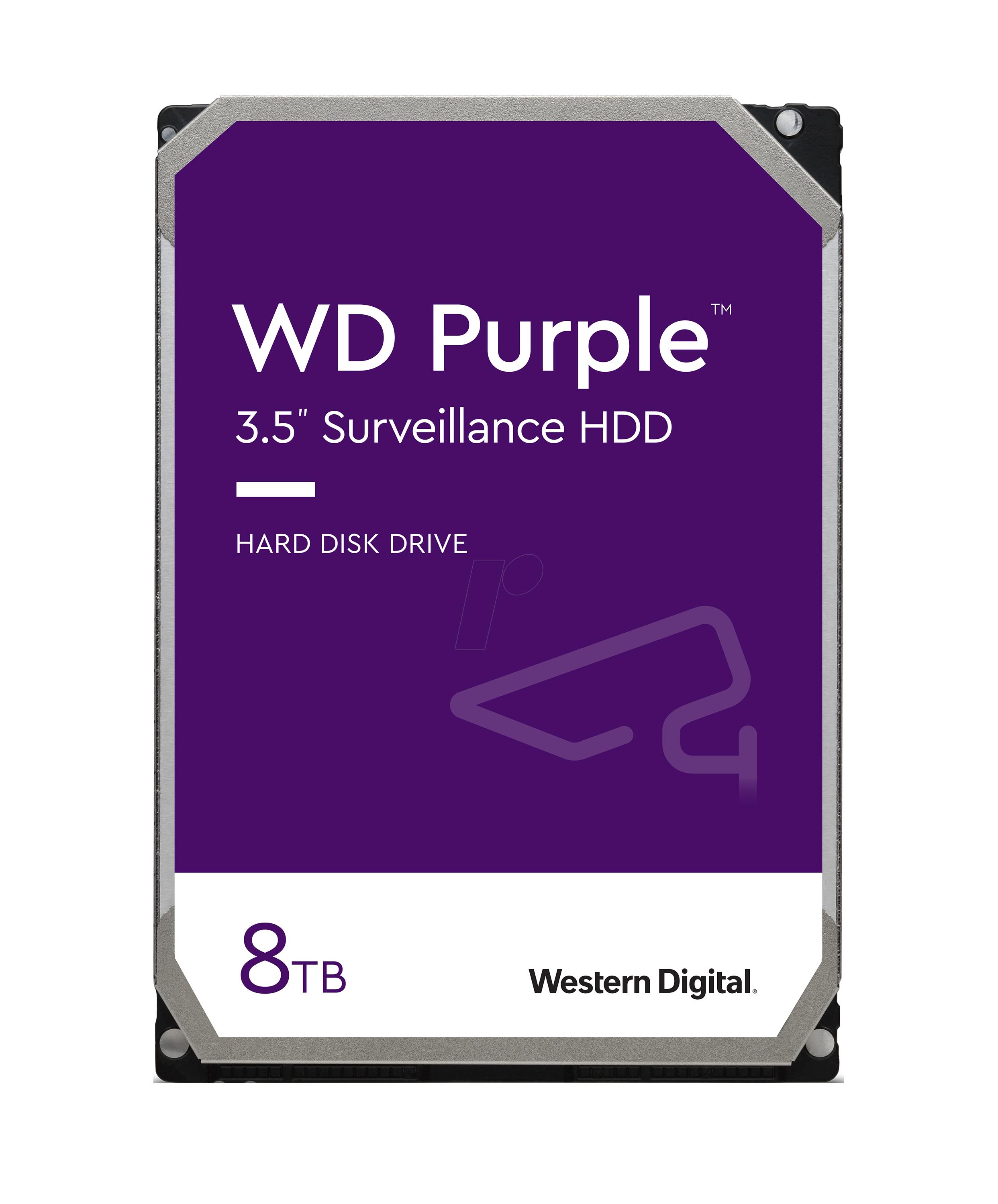 هارددیسک اینترنال وسترن دیجیتال مدل Purple WD82PURZ