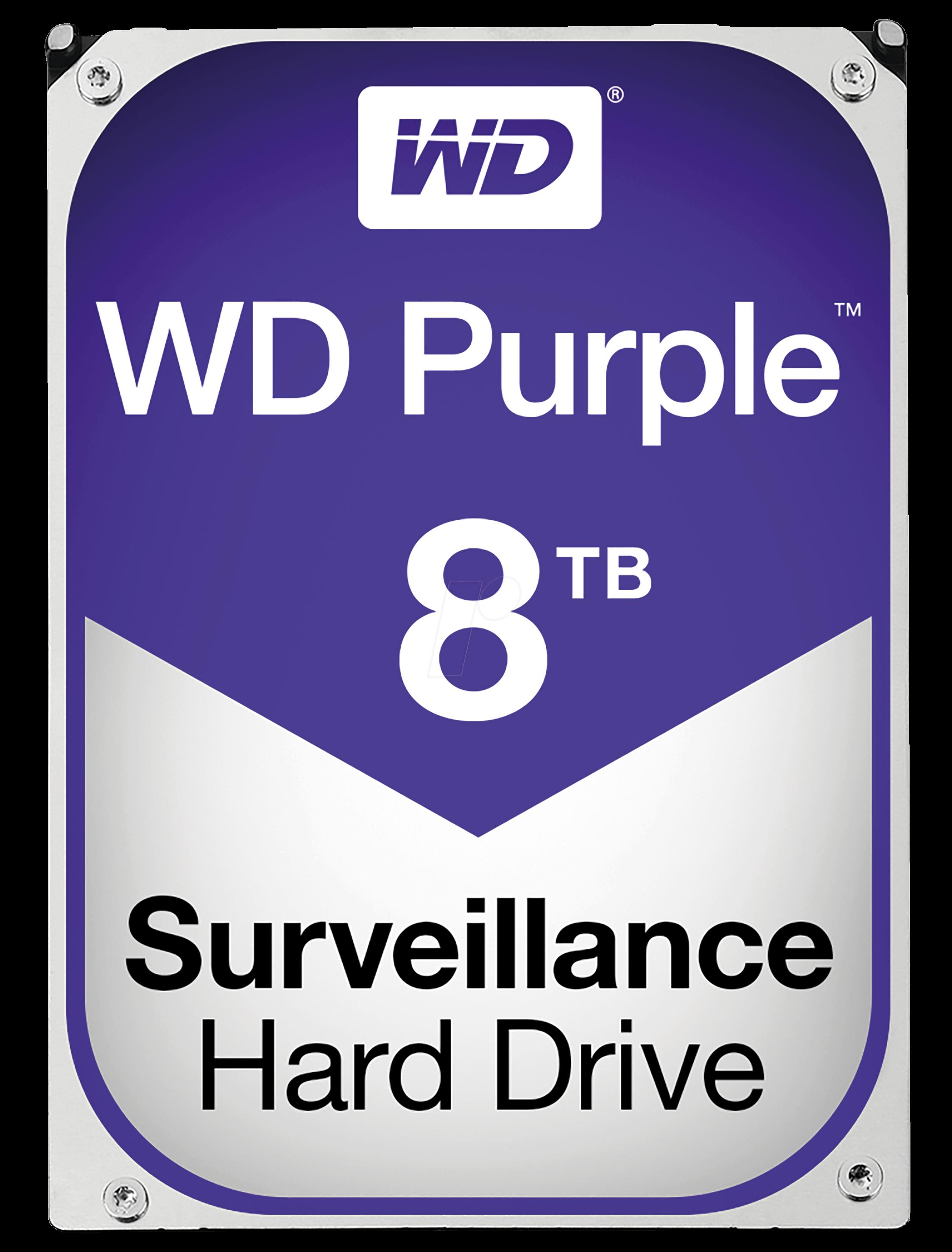 هارد وسترن دیجیتال Purple