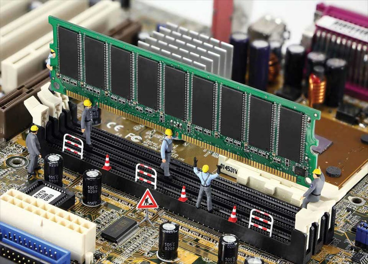 نصب RAM