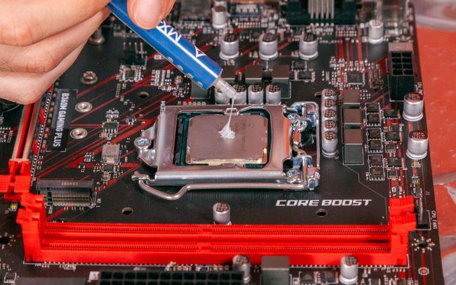 نصب فن CPU