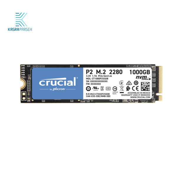 Crucia SSD مدل P2 با ظرفیت 1TB