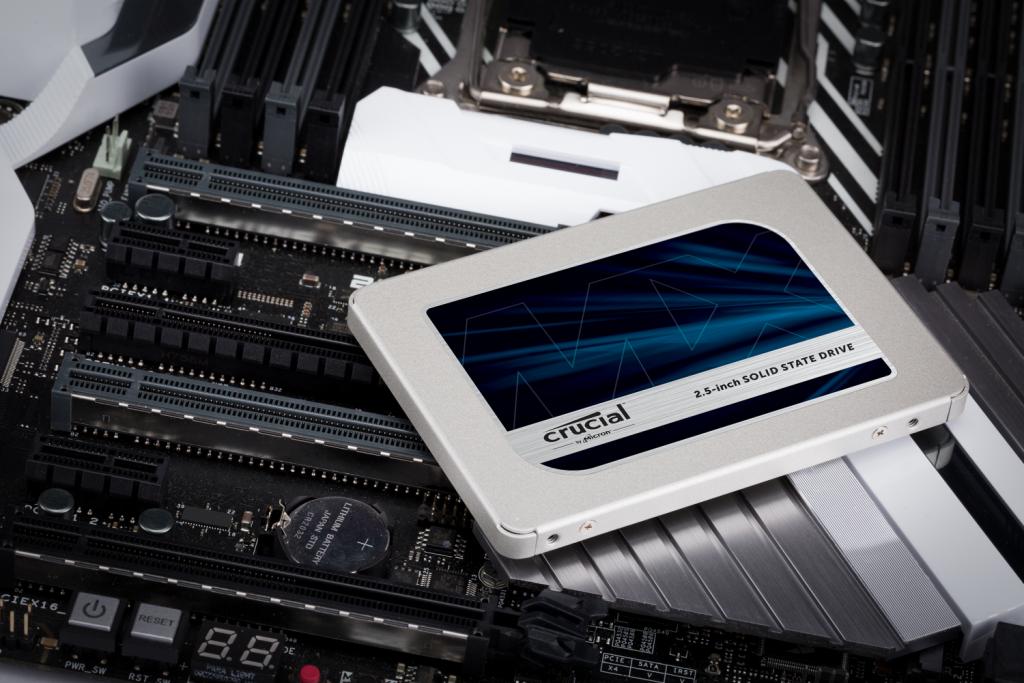 اس اس دی کروشیال MX500 ظرفیت 2 ترابایت